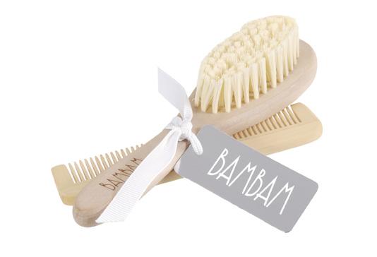 BamBam Brush & Comb