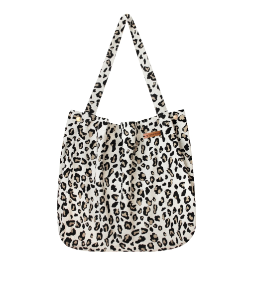 Mommy Tote Bag Leopard Jacquard