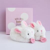 Slofjes konijn roze