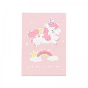 Unicorn kaartje